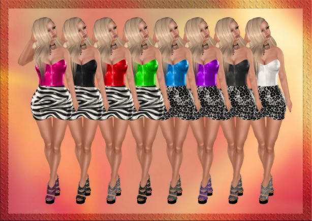 """Pose: """"Girls 515"""" By Ever Glow"""