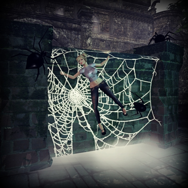 "Pose: ""Caught In A Web"" By Something New"